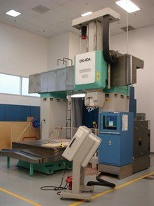 1 – USED OKADA MM 1524 CNC 5-AXIS BRIDGE TYPE MACHINING CENTER C-5660