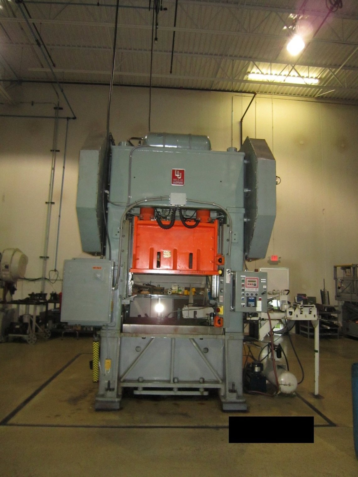 ​1 – USED 150 TON L&J SSDC PRODUCTION MASTER POWER PRESS C-5662