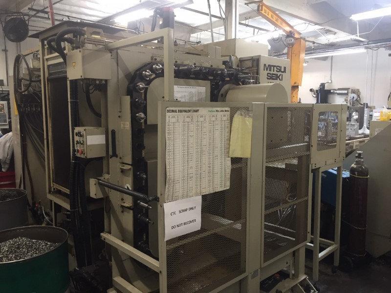 1 – USED MITSUI SEIKI 10 PALLET HORIZONTAL MACHINING CENTER