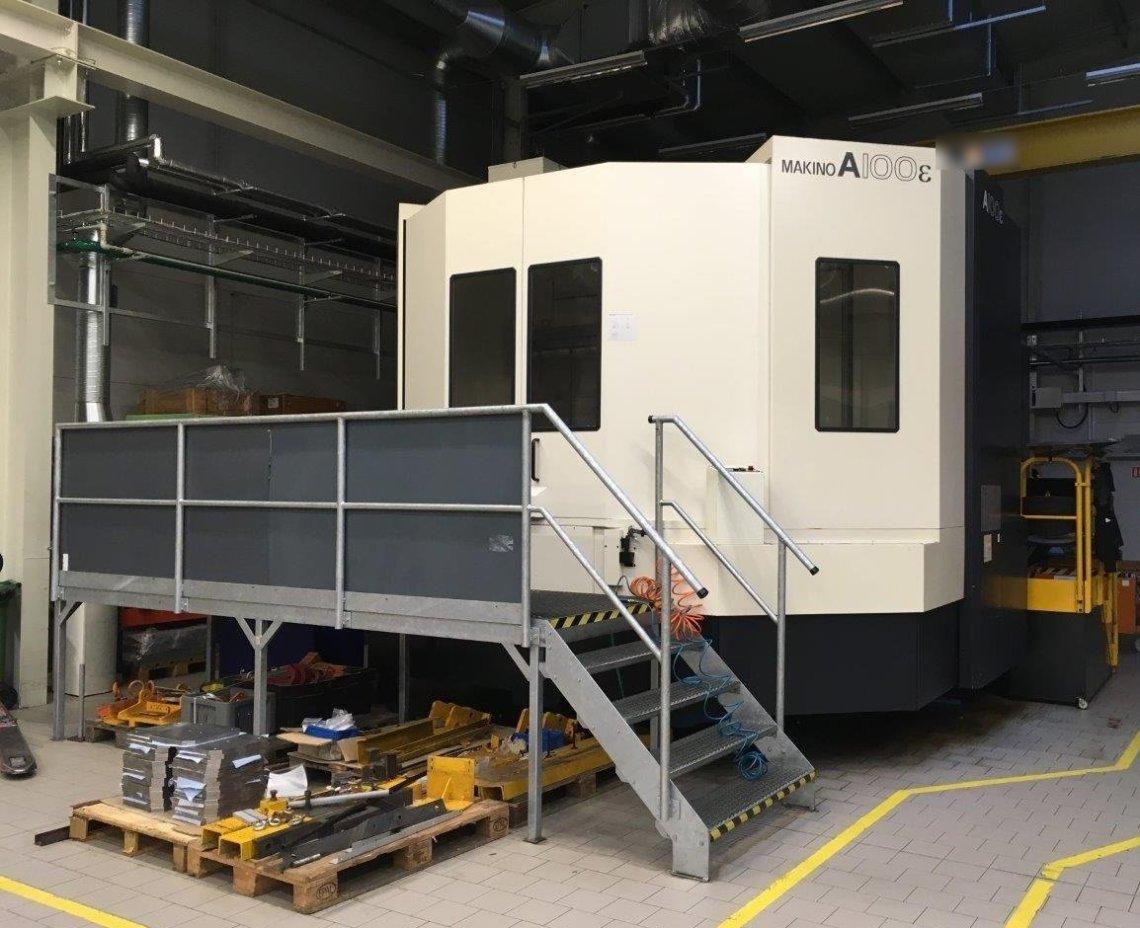 2 – USED MAKINO A100e-A132 HORIZONTAL MACHINING CENTER