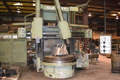 """1 - USED 59"""" SUMMIT VERTICAL BORING MILL"""