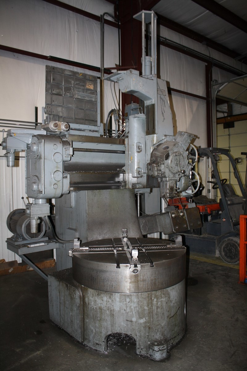 1 – USED WEBSTER & BENNETT DH-48 VERTICAL BORING MILL