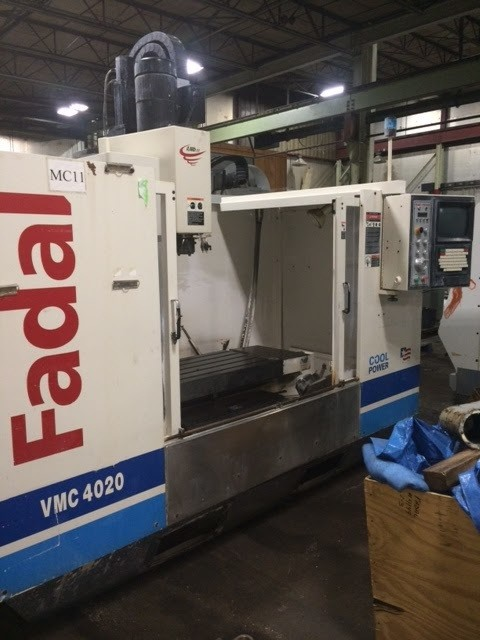 """1 – USED FADAL VMC 4020HT WITH EXTENDED """"Z"""""""