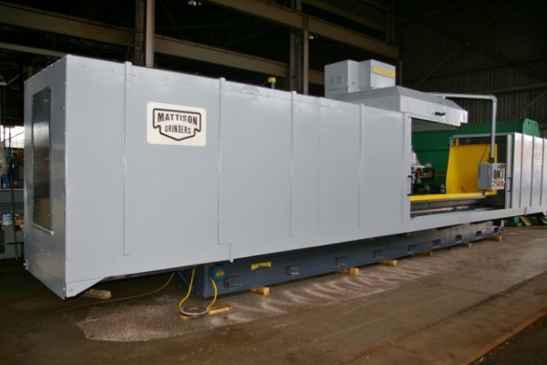 "​1 – USED 30"" X 36"" X 144"" MATTISON PRECISION HEAVY DUTY CNC HYDRAULIC SURFACE GRINDER"