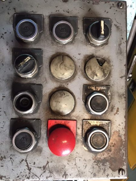 "1 – USED 3"" PINES MODEL 2 HORIZONTAL HYDRAULIC TUBE BENDER"