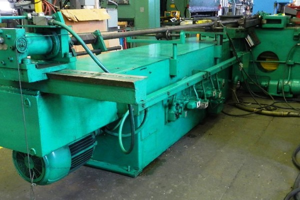 ​1 – USED PINES MODEL #4 HORIZONTAL HYDRAULIC TUBE BENDER C-5712