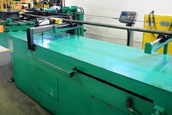 ​1 – USED PINES MODEL #4 HORIZONTAL HYDRAULIC TUBE BENDER