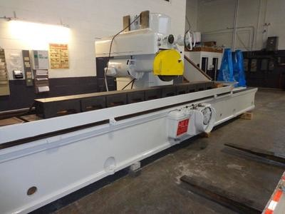 "1 - USED 18"" x 18"" x 168"" HILL-ACME HYDRAULIC HORIZONTAL SPINDLE SURFACE GRINDER WITH ADF"