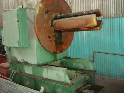 1 - USED 20,000 LB. AMERICAN STEEL LINE MOTORIZED STOCK REEL, MODEL 1000