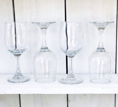 Short White Wine Glasses