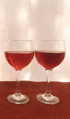 Tall Red Wine Glass