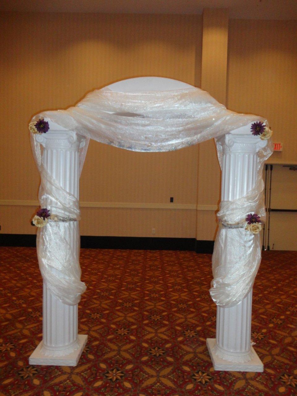 6' Column Arch