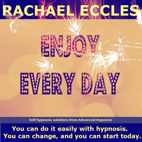 Enjoy Every Day, Positive, Focused, Happier 2 track Hypnotherapy Self Hypnosis MP3 download 00229