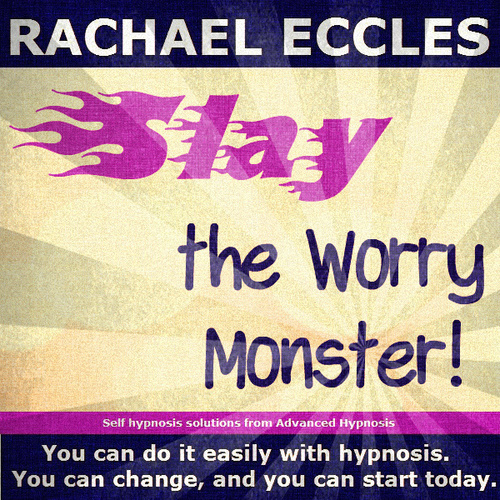Slay the Worry Monster, 2 track Hypnosis Hypnotherapy MP3 download 00165