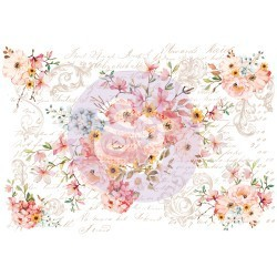 Prima Decor Transfer: Rose Celebration