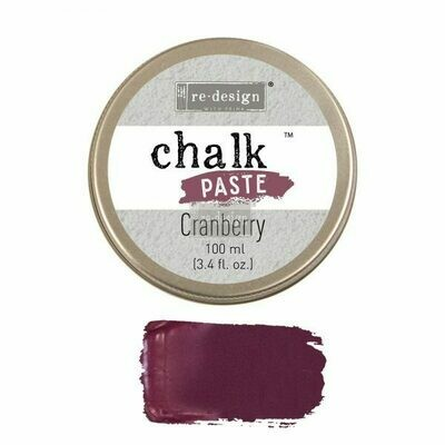 Chalk Paste: Cranberry