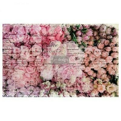 Decoupage Decor Tissue Paper: Flower Market