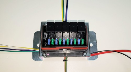 small resolution of universal wire harnes w fuse box