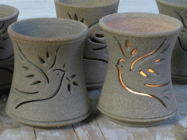 Dove Tea Light Luminary