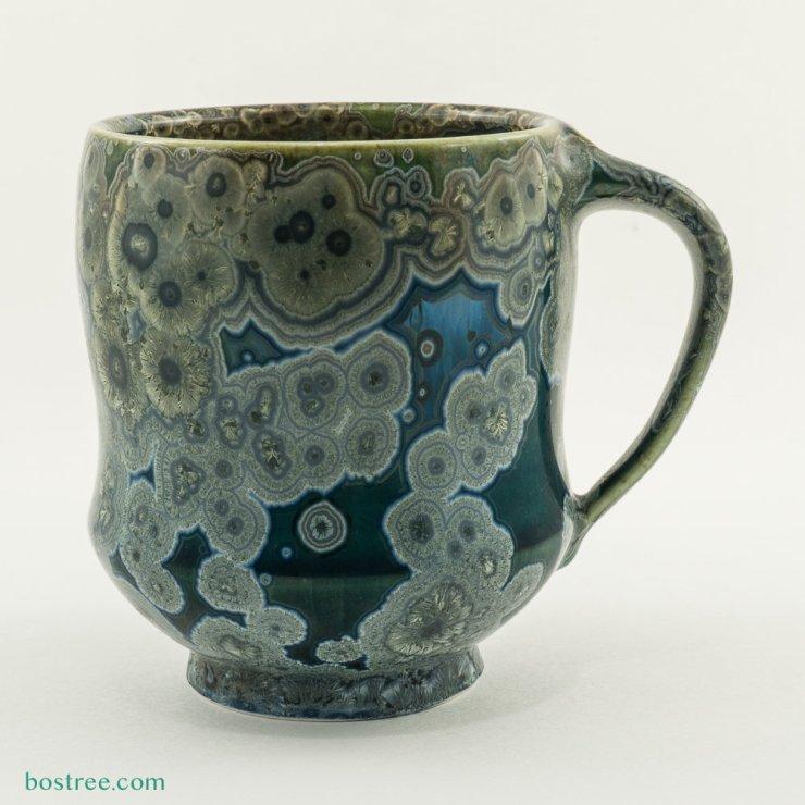 Crystalline Glaze Mug by Andy Boswell #AB00547 AB00547