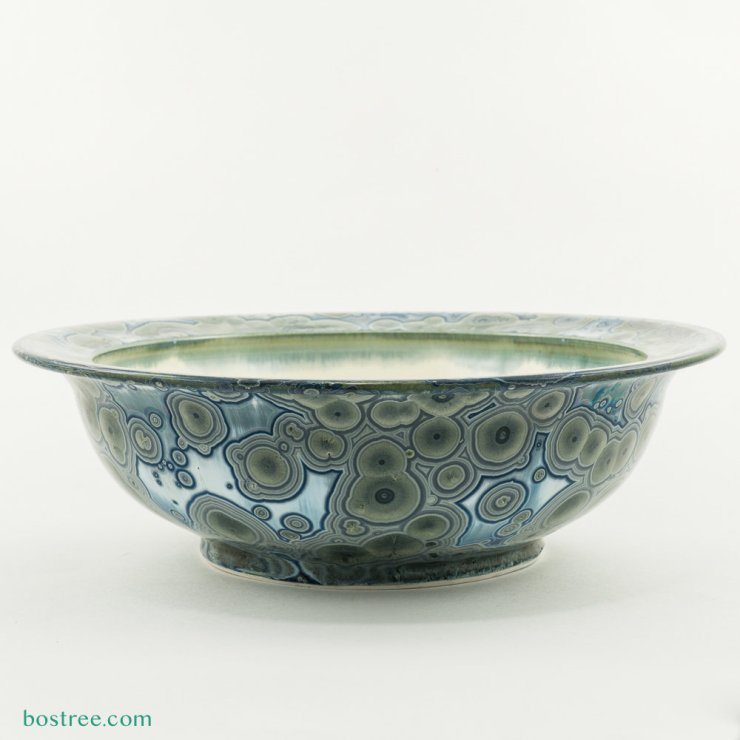 Crystalline Glaze Serving Bowl by Andy Boswell #ABB0033 ABB0033