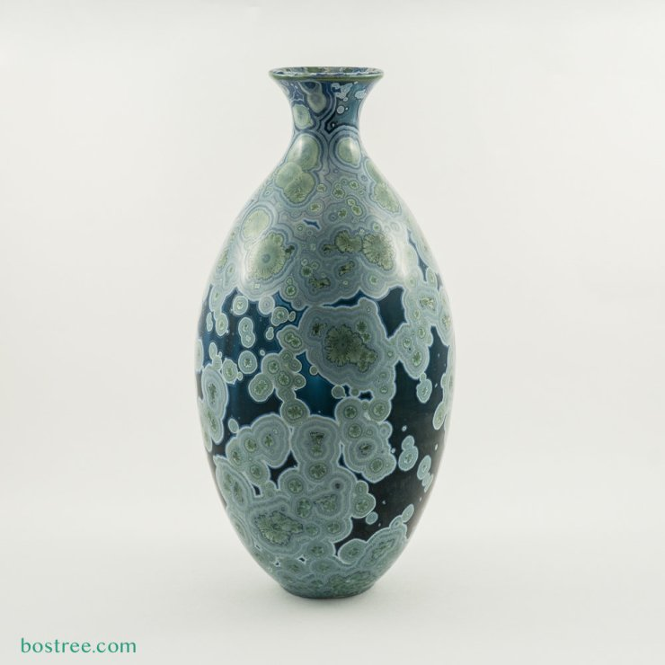 Crystalline Glaze Vase by Andy Boswell #ABV0104 ABV0104