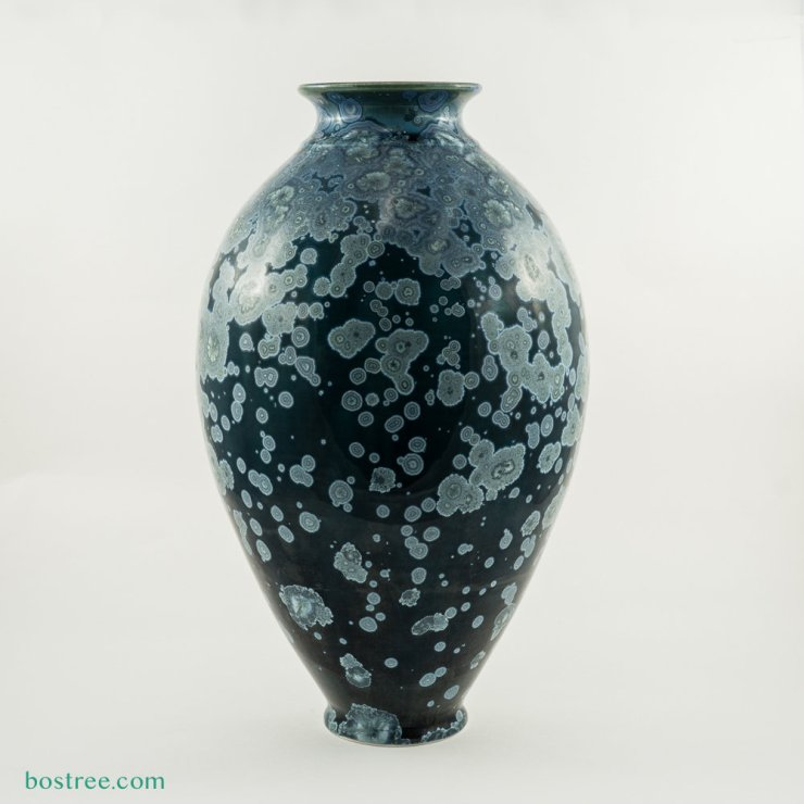 Crystalline Glaze Vase by Andy Boswell #ABV2017 ABV2017