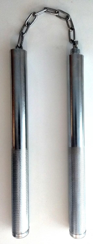 Chakos y bastón de alumio atornillables dos en uno