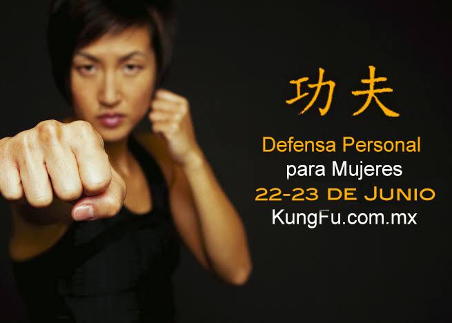 Curso Defensa Personal para Mujeres 22 al 23 de Junio