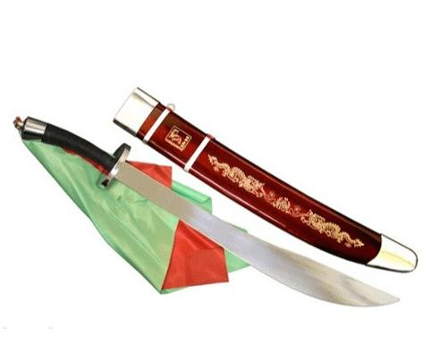 Sable de Wushu Daoshu Original Flexible con funda 0000000