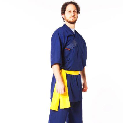 Uniforme Shaolin Azul 00021