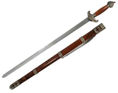 Espada de Tai Chi Cabeza de Leon