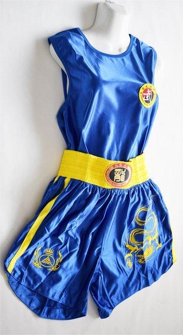 Uniforme Oficial de SanDa Azul