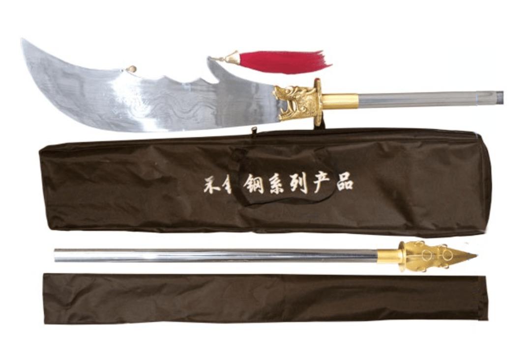 Kwan dao  (Guan Dao) acero inoxidable. 00049