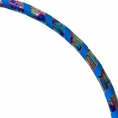Happy Tie Dye - Blue Hula Hoop