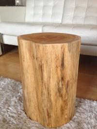 Stump Side Table, Log Side Tables, Rustic Coffee Table ...