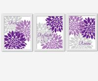 Purple Wall Decor