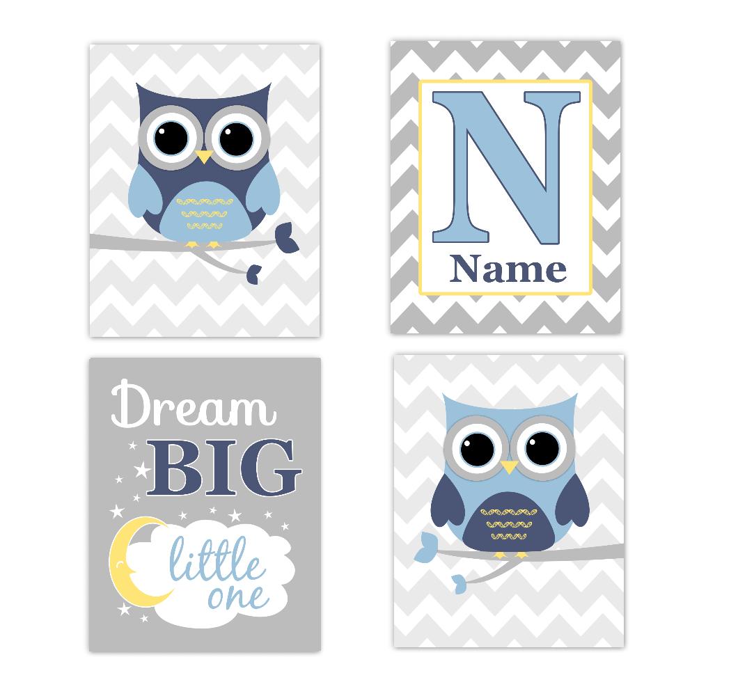 blue owls baby boy
