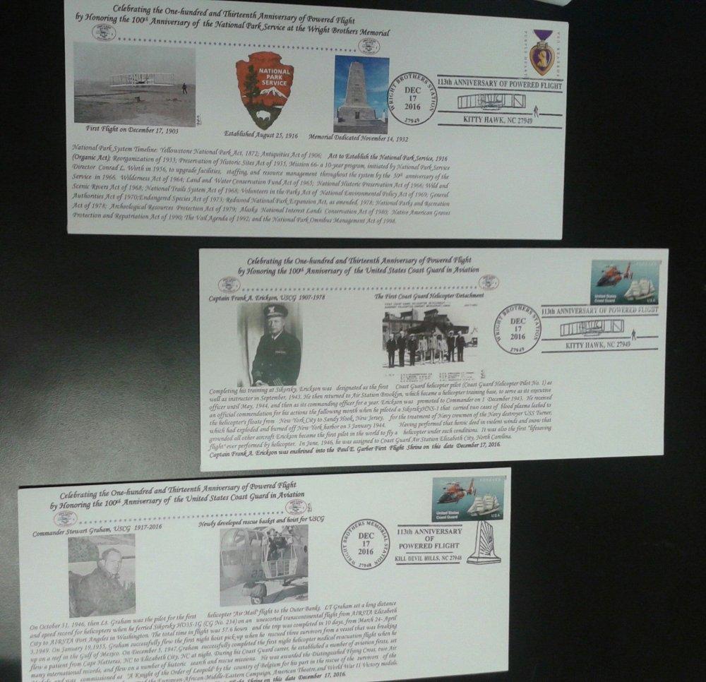 Commemorative Cachets