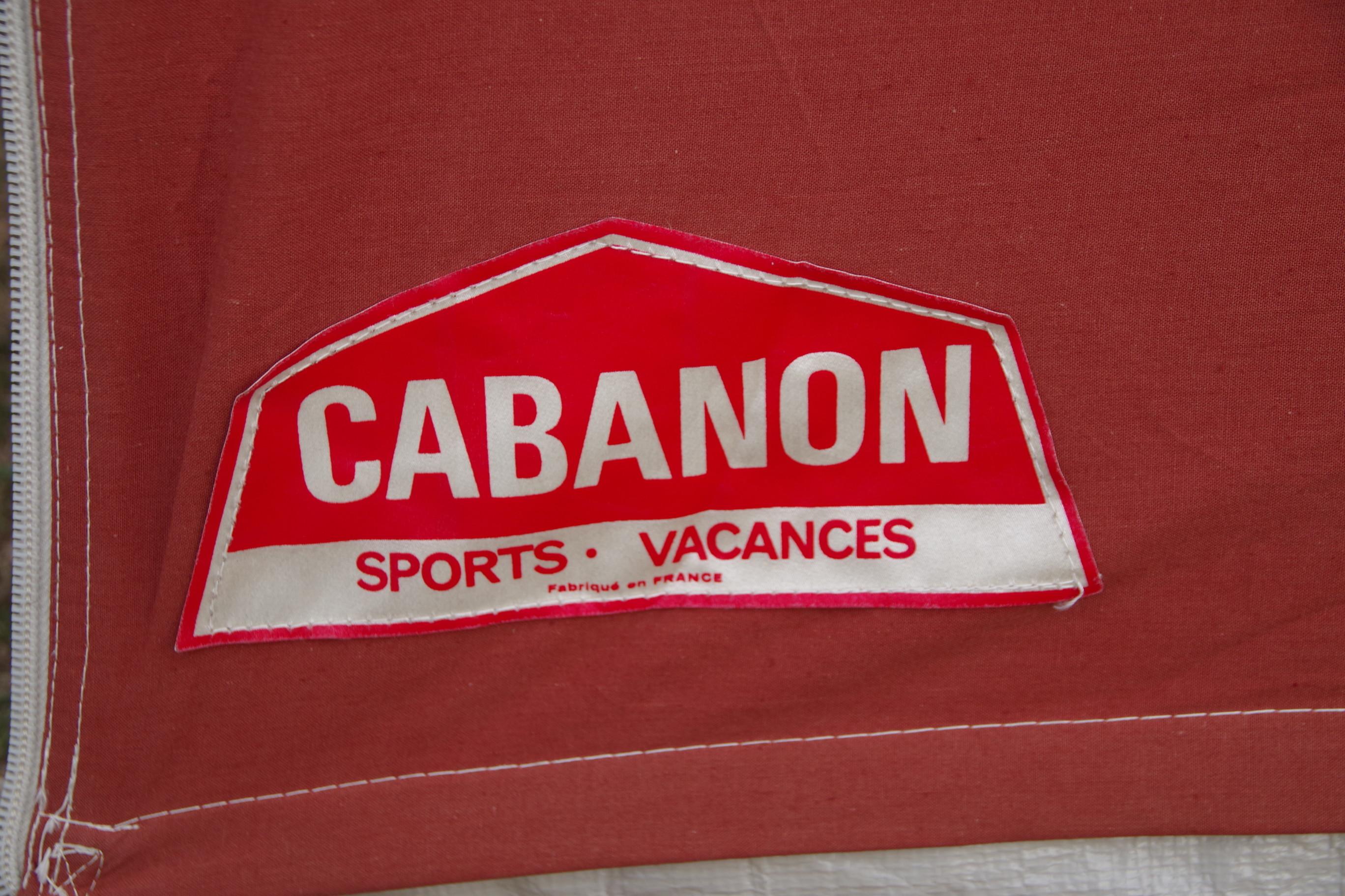 フランス製 キャバノン ニコル 5人用 バックエントランス付き