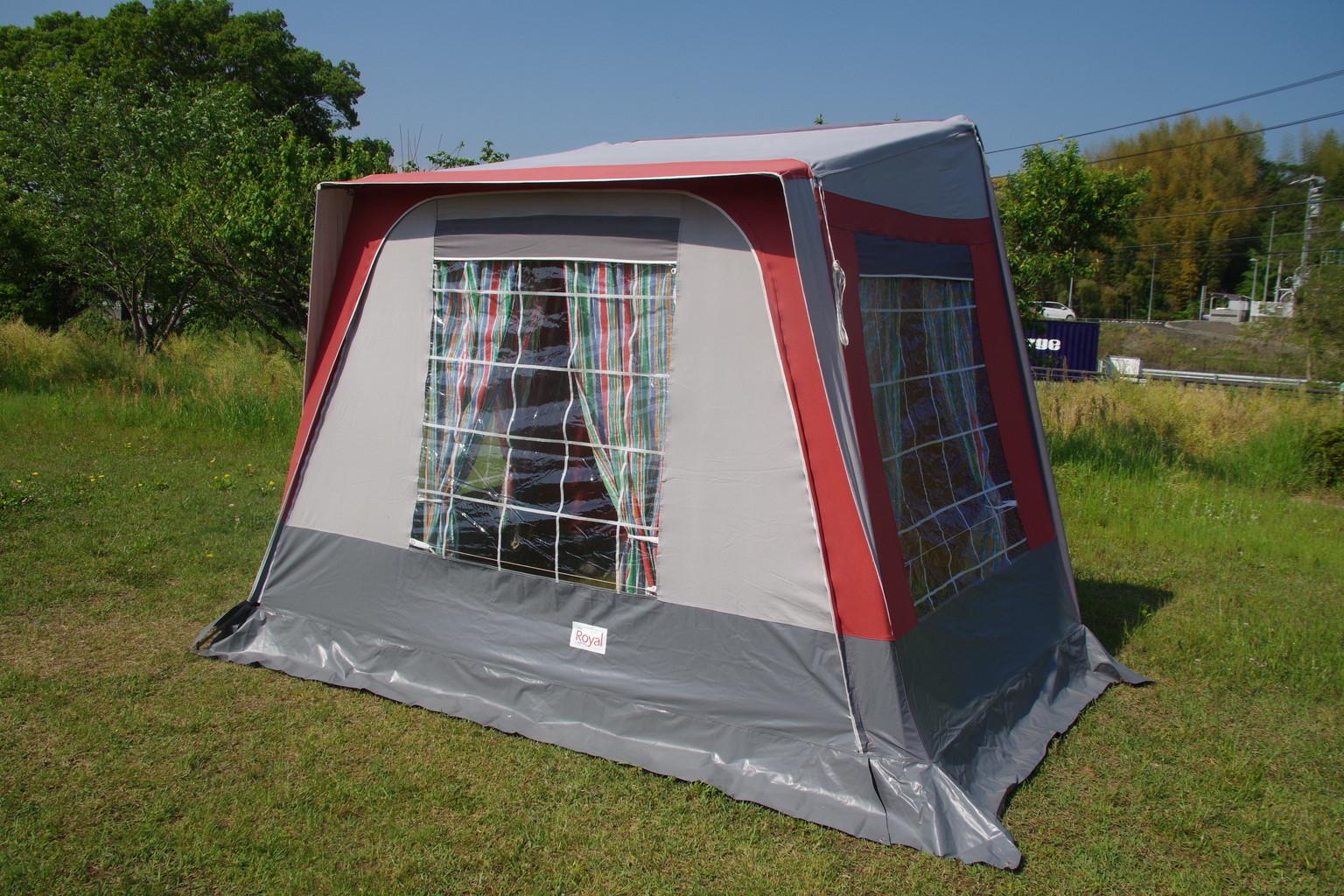 英国製 Royal Camp カーサイドテント サンテレスタイル 極上美品 00016