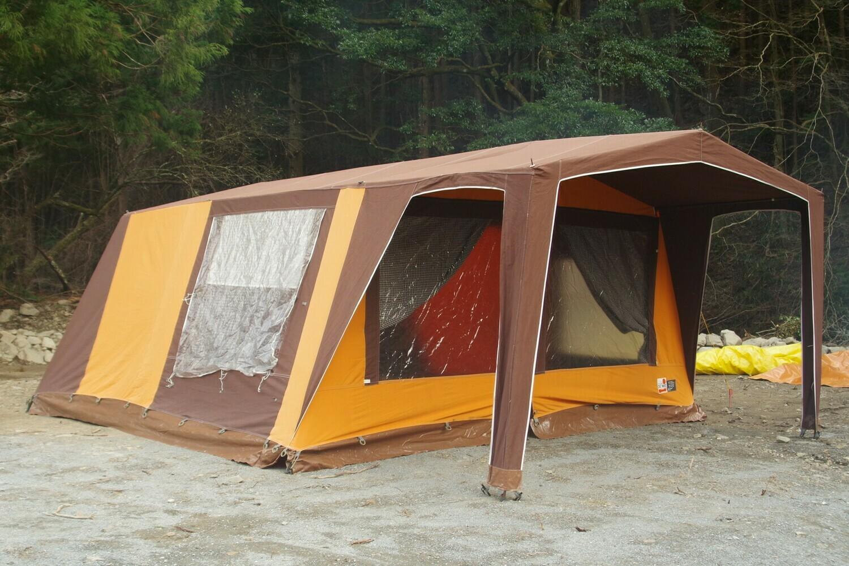 オランダテント DEWIT /TERKA TENT 5人用 大型ロッジ