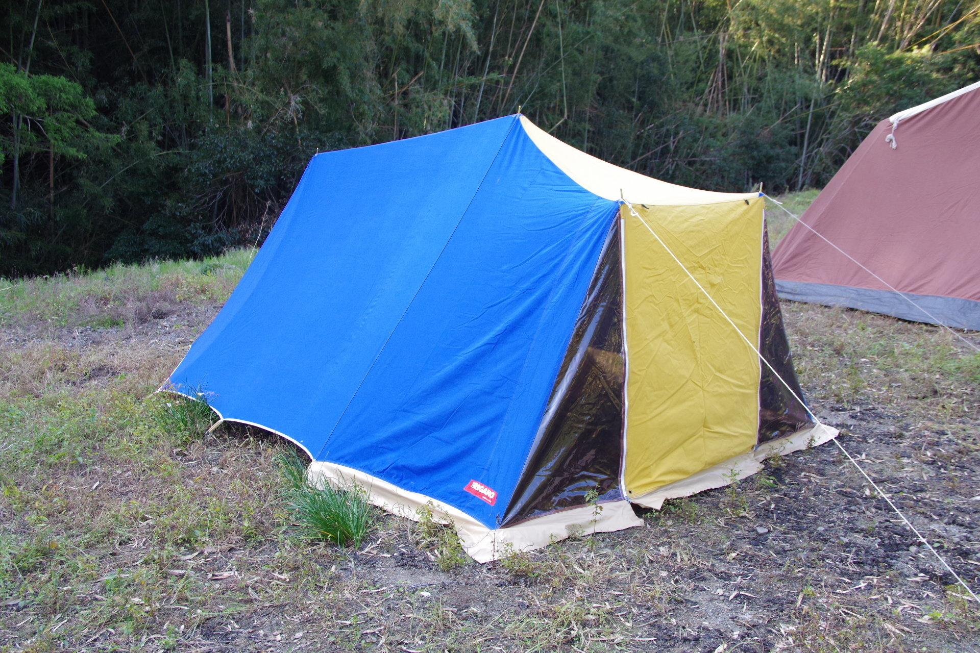 トリガノ リッジタイプ ウミウシ デッドストック コットンテント ソロキャンプ TRIGANO 00053
