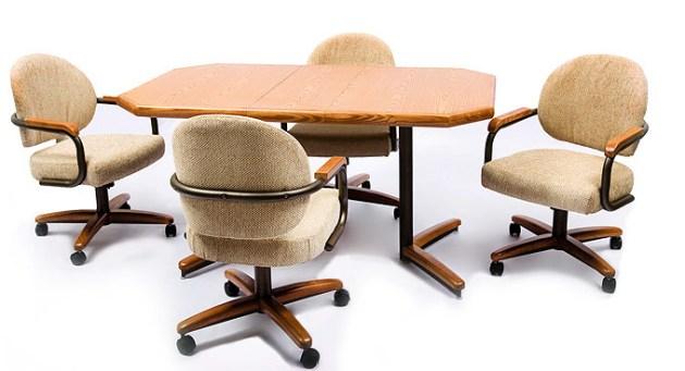 Sara Caster Dinette Chair Amp Table Set Caster Dinette