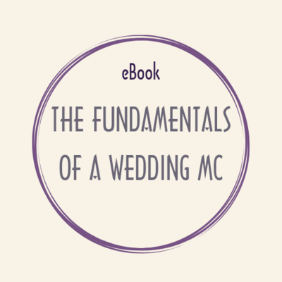 ebook PDF THE FUNDAMENTALS OF A WEDDING MC