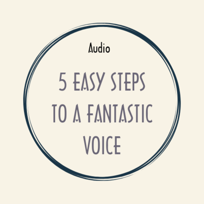 audio + video + ebook 5 EASY STEPS TO A FANTASTIC VOICE