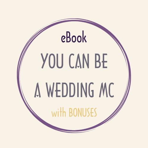 eBook pdf YOU CAN BE A WEDDING MC bonus