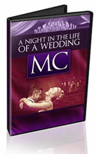 video A NIGHT IN THE LIFE OF A WEDDING MC follows the interesting and informative evenings of a live professional wedding MC video mc wedding nightlife