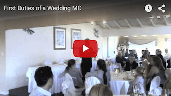 video A NIGHT IN THE LIFE OF A WEDDING MC follows the interesting and informative evenings of a live professional wedding MC