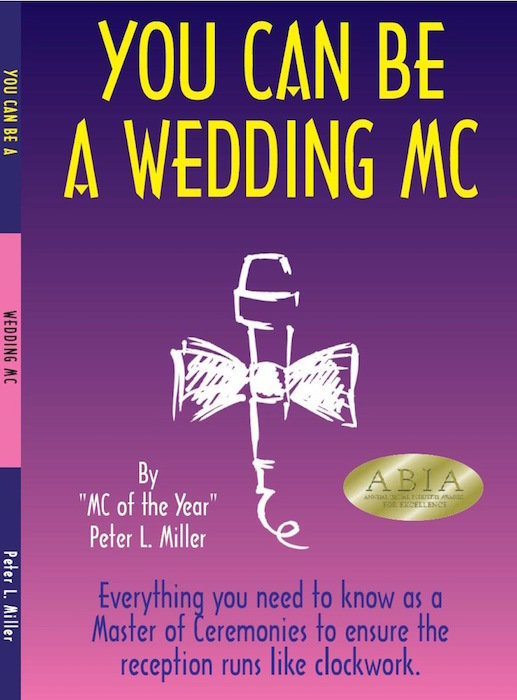 printed paperback YOU CAN BE A WEDDING MC free shipping in Australia. printed book printed shipped ycbawmc